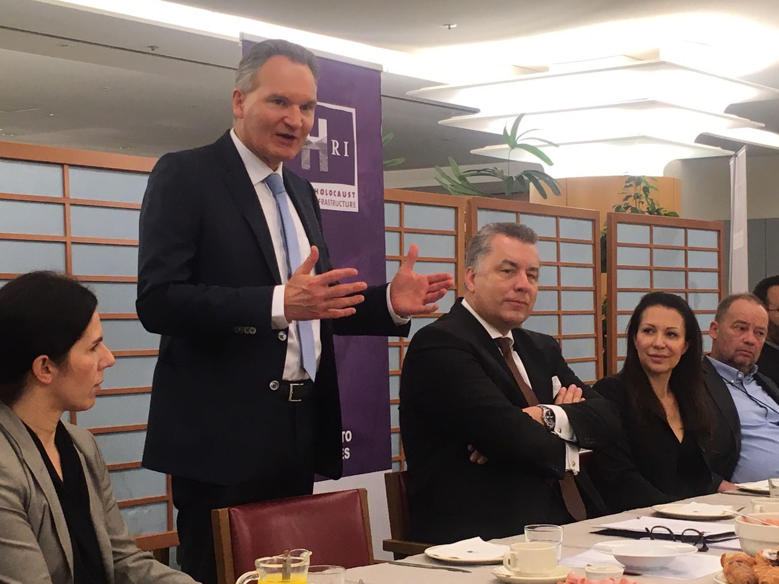 Robert Jan Smits at EP Meeting