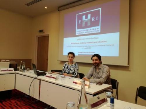 EHRI Workshop Borderlands