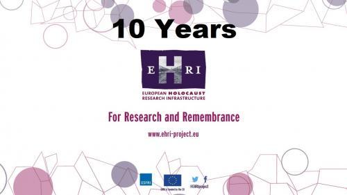 EHRI 10 years