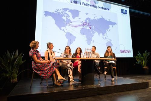 EHRI fellows in panel