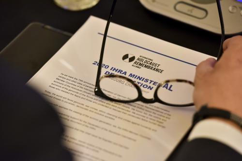 IHRA Ministerial Declaration 2020