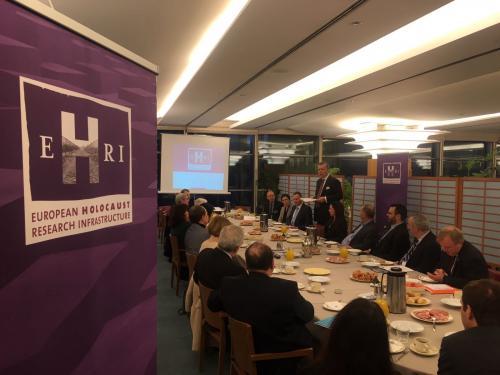 EHRI Breakfast meeting at EP