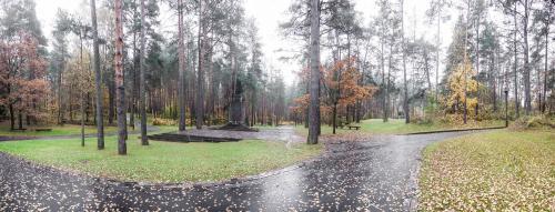 Paneriai Memorial Site in Vilnius, Lithuania