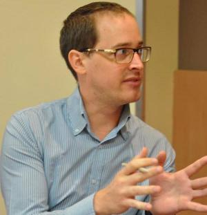Adam Gellert at EHRI Seminar