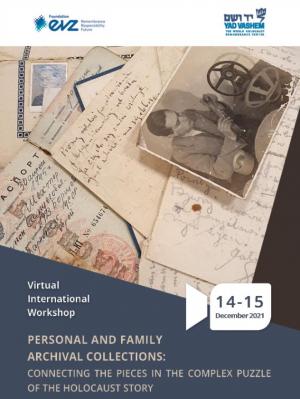 CFP for Yad Vashem-EVZ workshop, December 2021