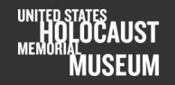 Chief Archivist   United States Holocaust Memorial Museum