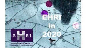 EHRI in 2020