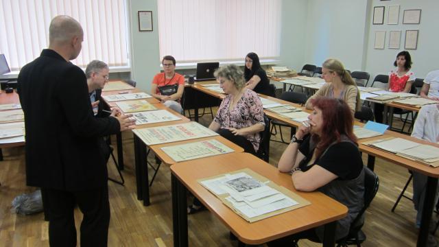 EHRI seminar in Vilnius