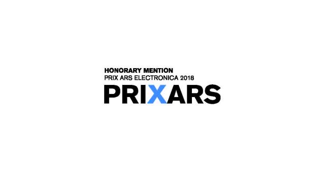 Honorary Mention Prix Ars Electronica